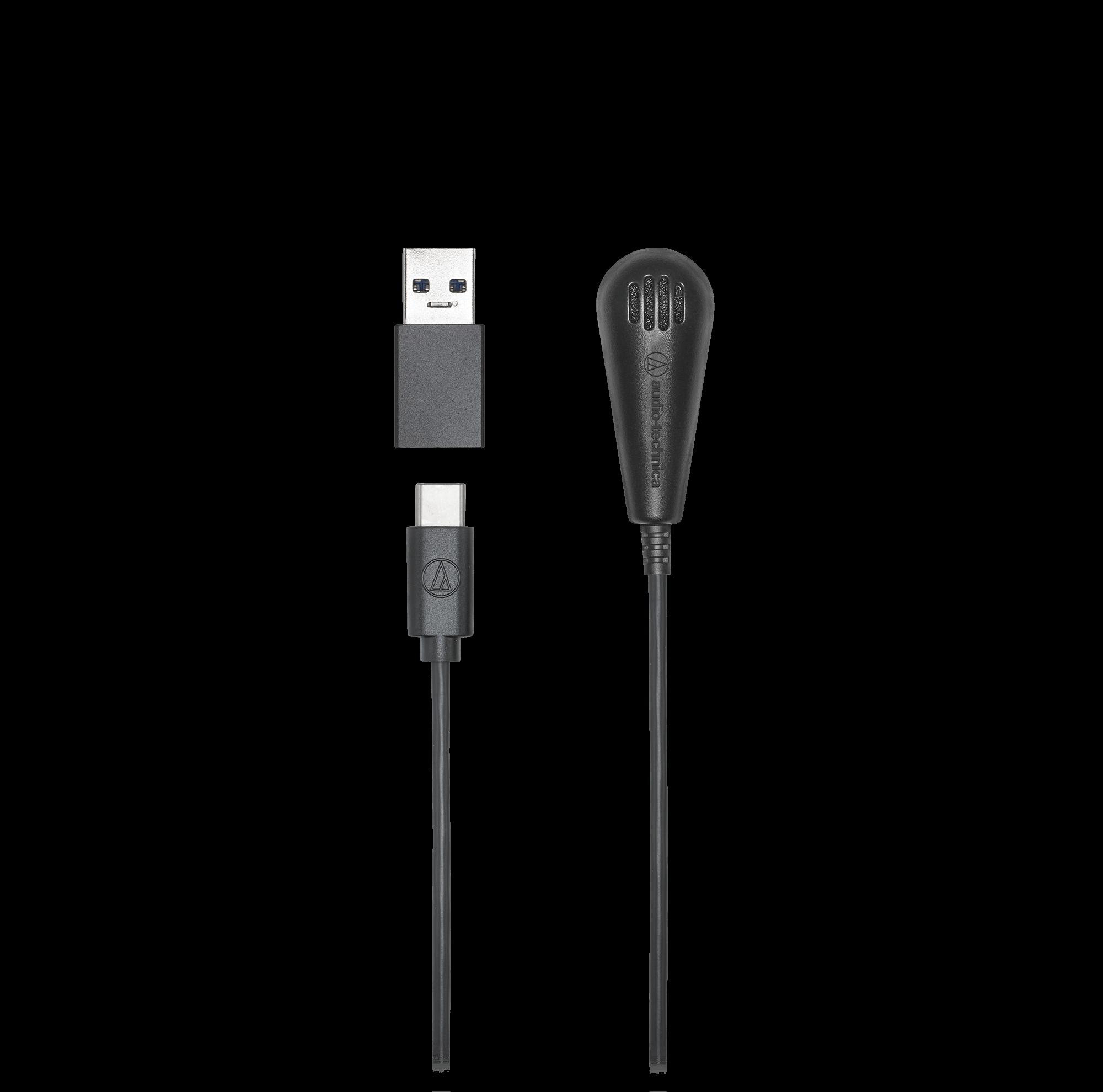 鐵三角 ATR4650-USB 數位 電容型 桌上型 領夾 全指向性 麥克風 | 金曲音響