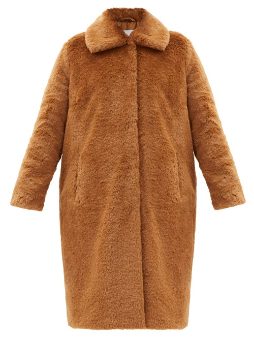Stand Studio - Maxine Faux-fur Coat - Womens - Brown