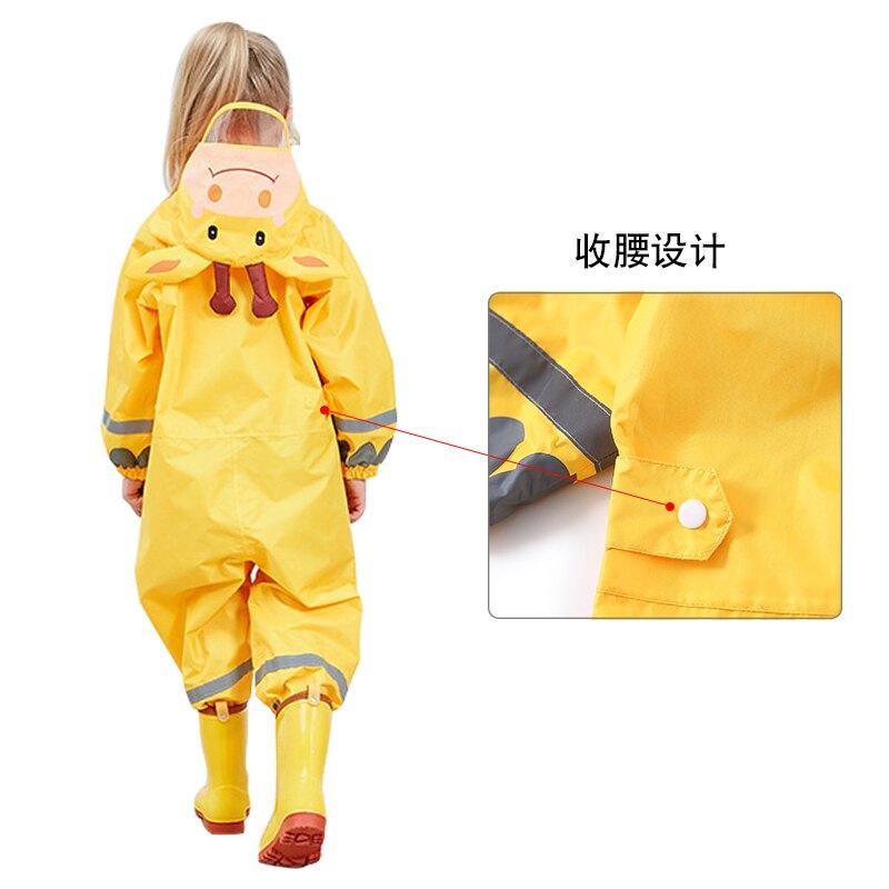兒童雨衣幼兒園寶寶連體雨衣雨褲男童女童小學生長款防水雨披雨具 尚品衣櫥