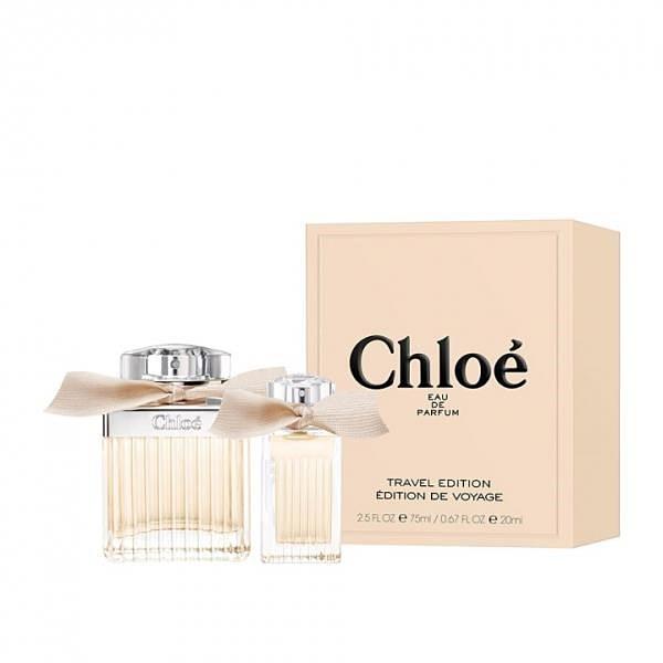【南紡購物中心】Chloe 同名女性淡香精旅行組禮盒 (淡香精75ml + 20ml)