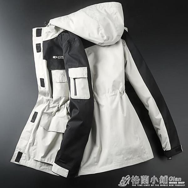 戶外衝鋒衣女三合一兩件套可拆卸防水防風韓版登山滑雪服外套-完美