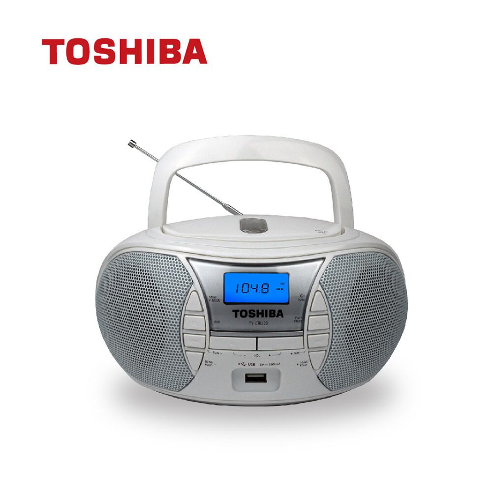 toshiba ty-cru20 手提usb cd收音機 手提音響 手提收音機 cd音響 收音機