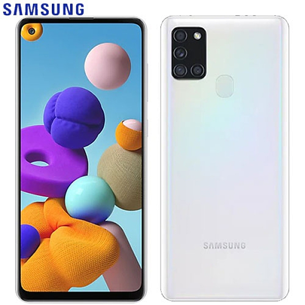 SAMSUNG三星 Galaxy A21s 智慧型手機4G/64G-白【愛買】