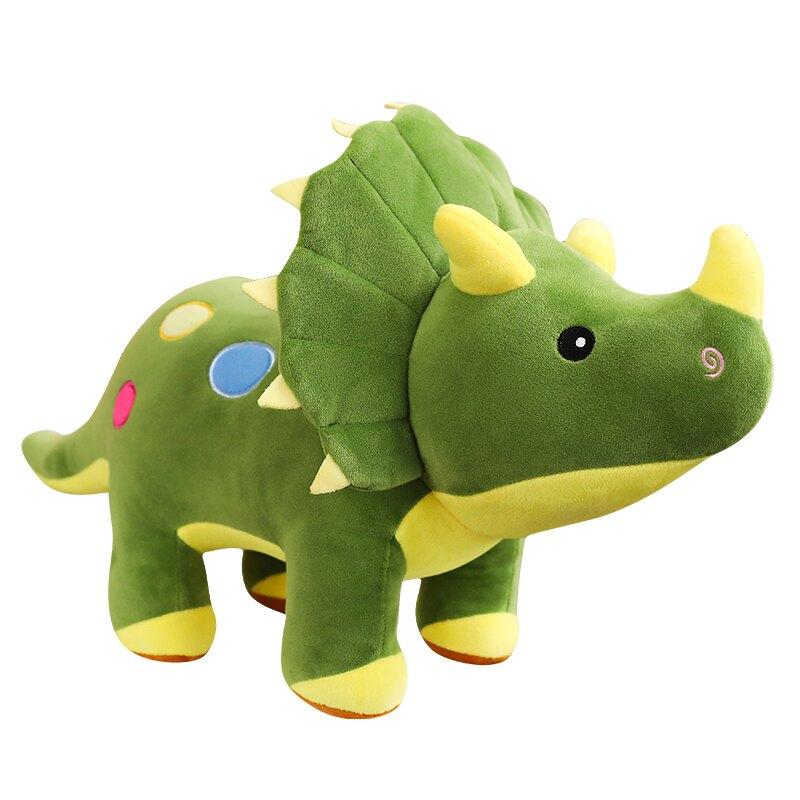 三角龍毛絨玩具恐龍霸王龍公仔玩偶抱枕男孩