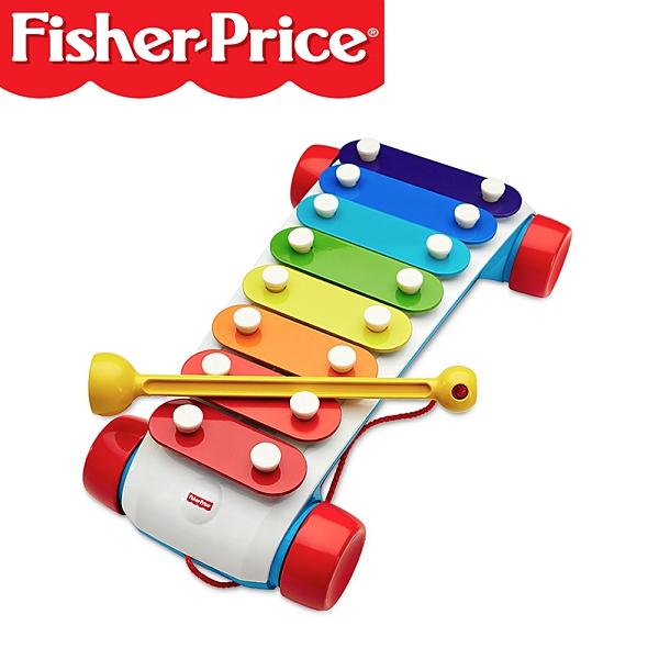 Fisher-Price 費雪 美國 彩虹鐵琴
