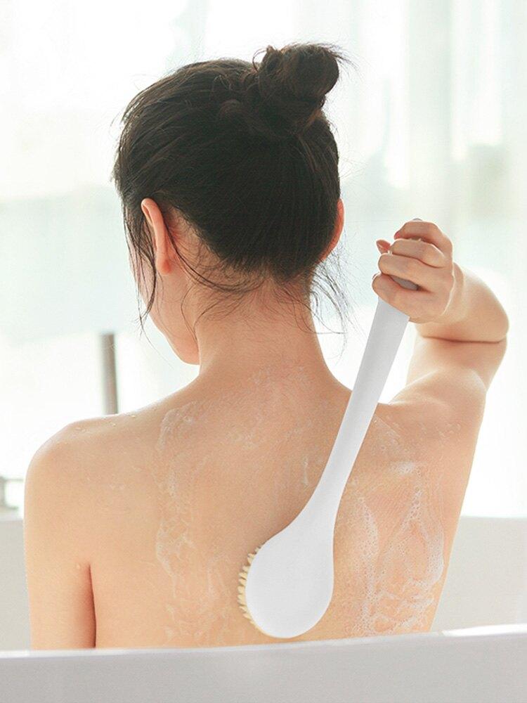 搓澡刷洗澡沐浴刷子長柄軟毛搓澡巾搓背部不求人成人擦背神器搓泥