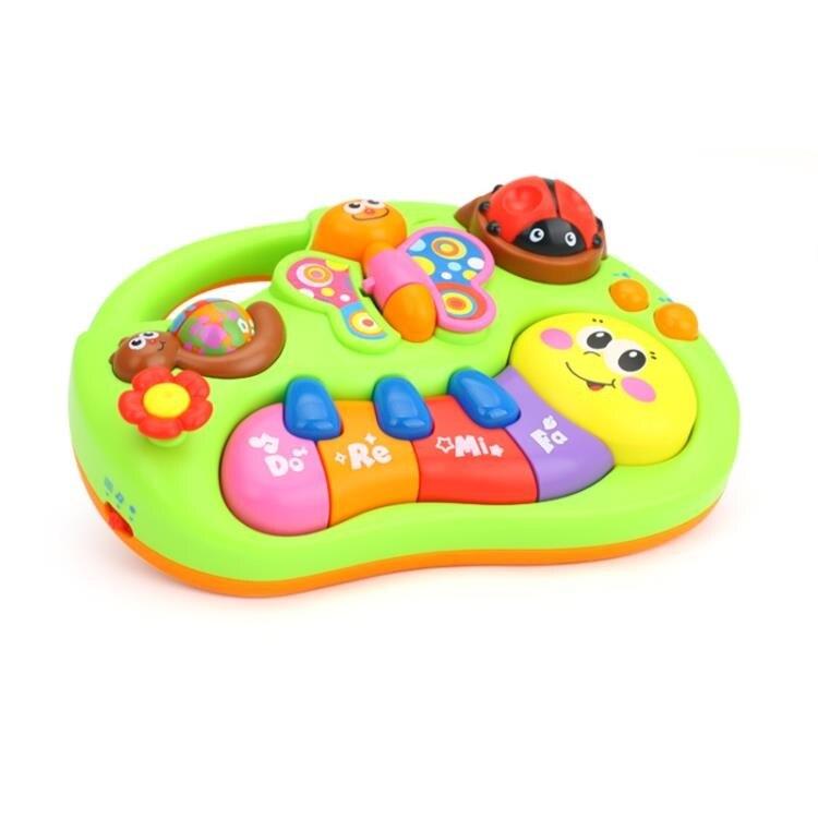 電子琴 匯樂玩具 手指啟蒙學習琴 哄睡寶寶安撫音樂玩具6-12個月 【品質保證】【免運】【快速出貨】