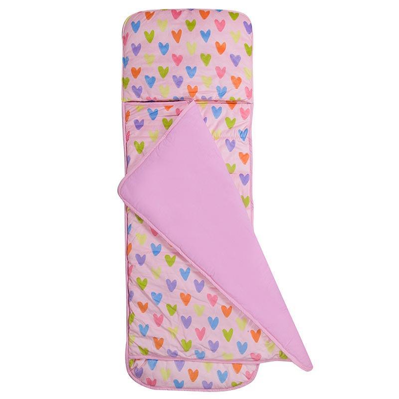 捲捲收兒童睡袋(2-7)  24系列   塗鴉愛心