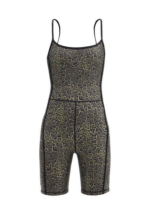 The Upside - Leopard-print Jersey Bodysuit - Womens - Leopard