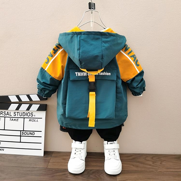 男童外套兒童派克服