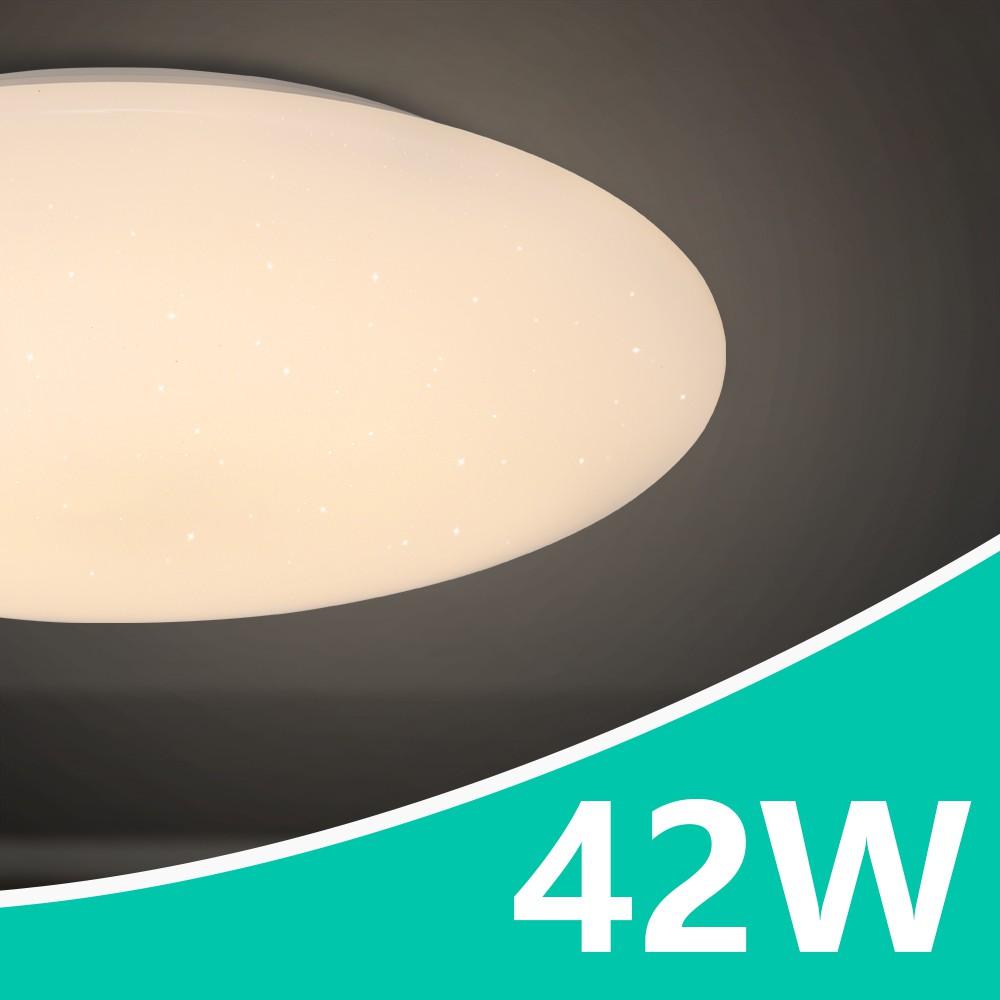LED吸頂燈 42W 月耀星空 壁切三段亮度調光