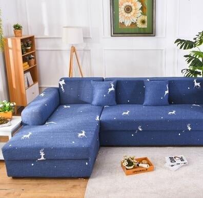 【現貨】沙發套 四季款簡約現代 一二三貴妃組合沙發套 沙發罩L型組合 全包萬能套 【新年免運】