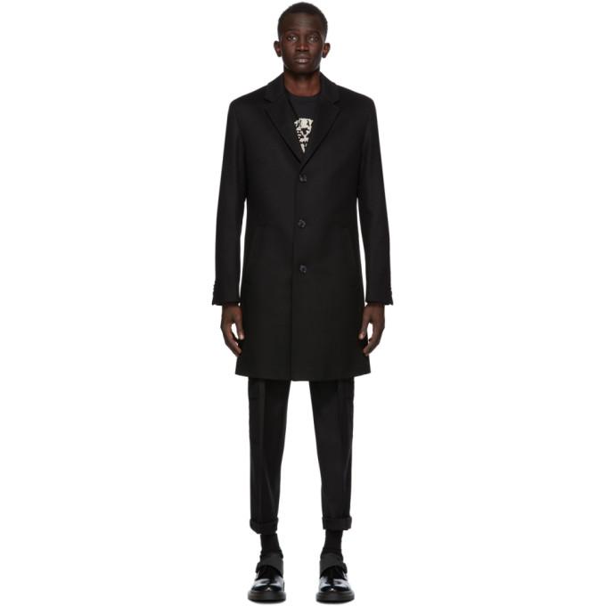 HUGO 黑色 Malte 大衣