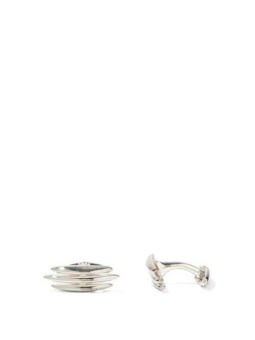 Shaun Leane - Arc Triple Sterling-silver Cufflinks - Mens - Silver