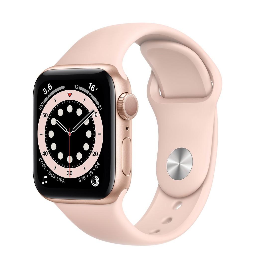 Apple Watch Series 6 40mm GPS版 鋁合金屬錶殼 藍/灰/金/銀【蘋果授權經銷商】