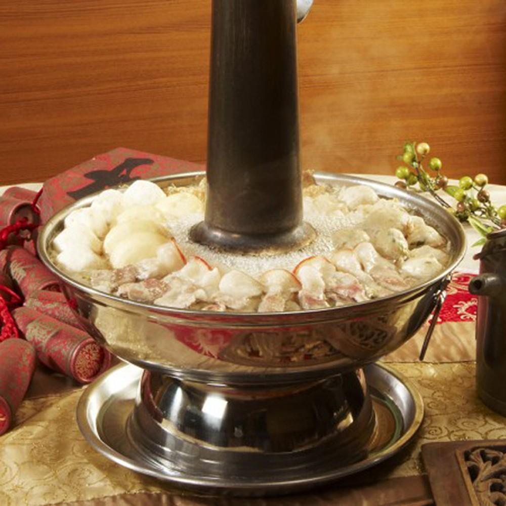 左營劉家 酸菜白肉火鍋澎湃組(2-3人份)堅持傳統古法醃製成的酸白菜 酸菜白肉鍋 廠商直送