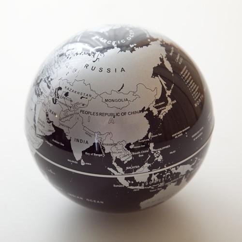 賽先生科學工廠|自轉地球儀(三色)