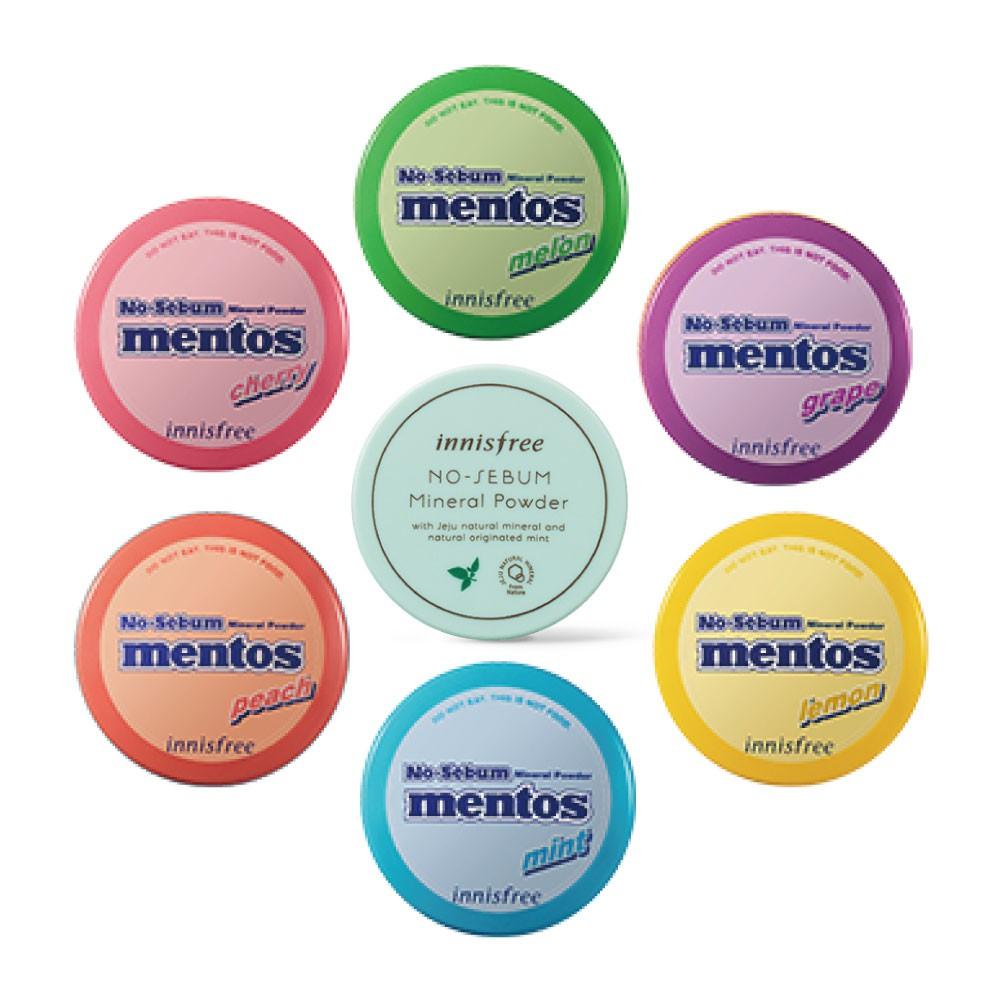 innisfree 曼陀珠蜜粉 聯名款 散粉 無油光天然薄荷礦物控油蜜粉 5g 全新正品/韓國貨 產品責任險