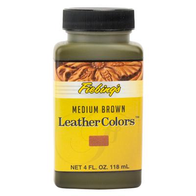 IVAN 騎士牌®水性皮革染料/棕色4oz,2600-33