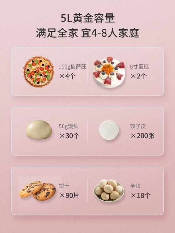 【現貨】和面機 海氏HM730和面機商用廚師機家用小型全自動揉面攪拌打蛋器鮮奶機 快速出貨