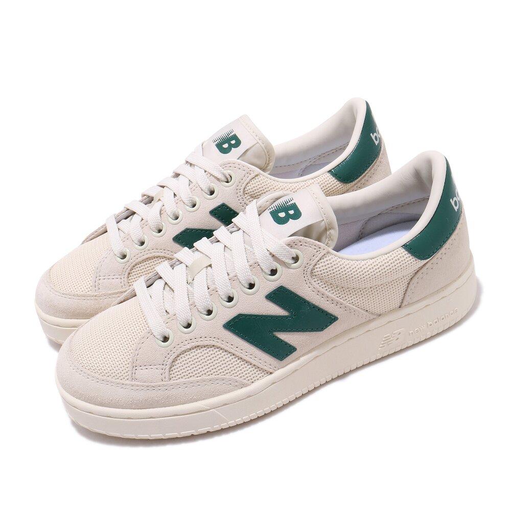 NEW BALANCE 休閒鞋 PROCT-C 運動 男女鞋 紐巴倫 基本款 簡約 麂皮 情侶穿搭 米白 綠 [PROCTCCGD]