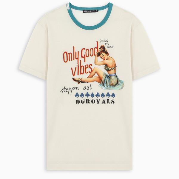 Dolce & Gabbana Only Good Vibes T-shirt