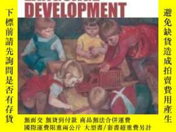 二手書博民逛書店Blackwell罕見Handbook Of Language DevelopmentY464532 Erik