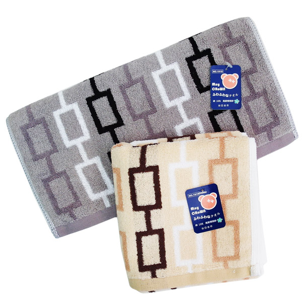 高級精梳紗毛巾-極簡風格-3入組