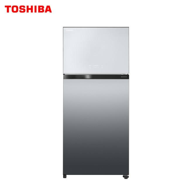 TOSHIBA 東芝 GR-AG66T(X) 鏡面冰箱 2門 608L 觸控面板設計