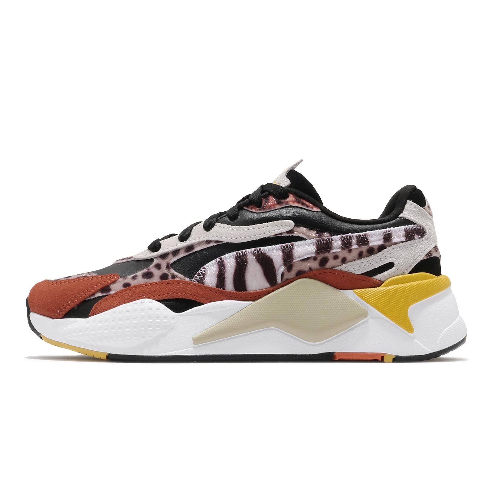 Puma 休閒鞋 RS-X3 W.Cats 黑 橘 女鞋 老爹鞋 貓 豹紋 復古慢跑鞋 Jolin 代言款 【ACS】
