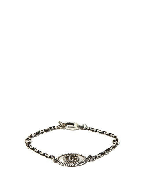 Gucci - GG Marmont Sterling-silver Bracelet - Mens - Silver