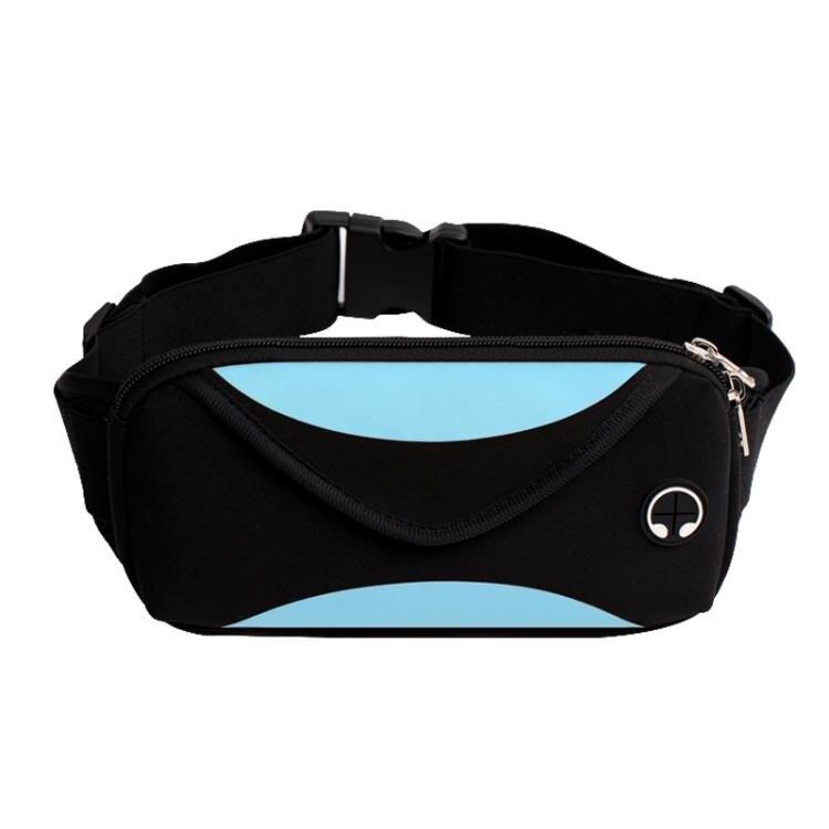 運動腰包男女跑步手機包多功能防水健身裝備小腰帶包新款時尚 全館免運