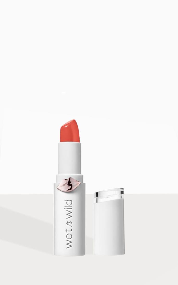 Wet N Wild Megalast Shine Lipstick Bellini Overflow