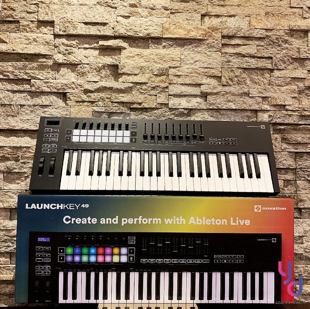 (贈音源軟體) novation launchkey 49 mk3 主控 midi 鍵盤 公司貨