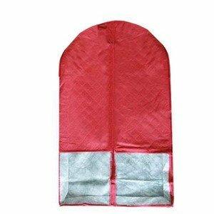竹炭二代酒紅色西裝收納袋