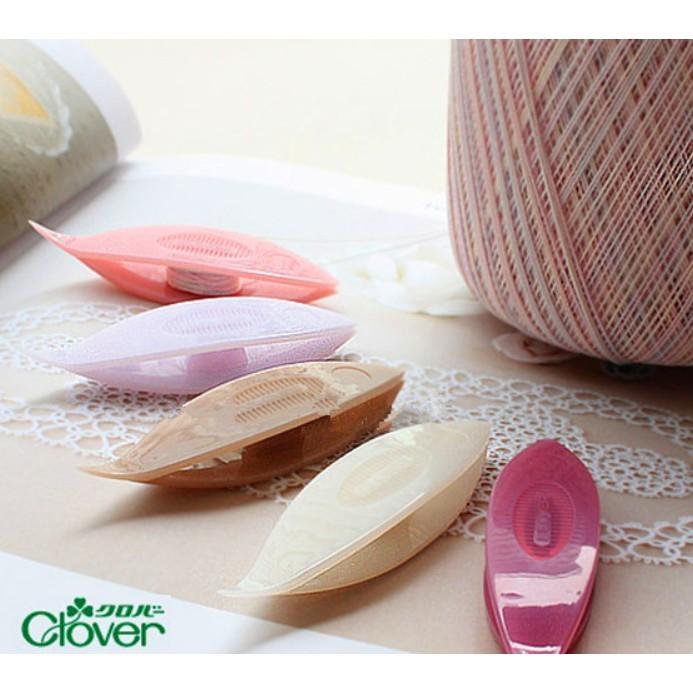 日本原裝 可樂牌 梭子蕾絲 花邊編織器 5件組 clover 57-833  57-820