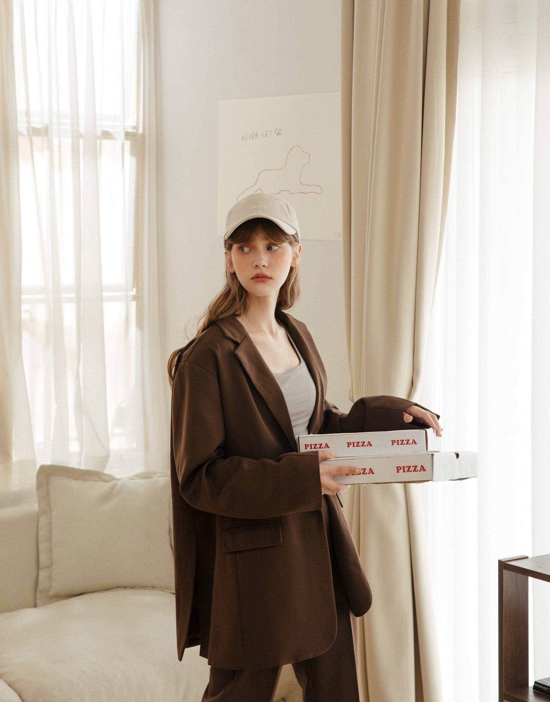 PAZZO+A'a 時裝周2.0寬鬆西裝外套