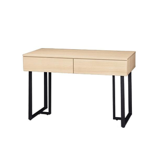 【MUNA 家居】酷樂4尺二抽書桌(共四色)北歐橡木色