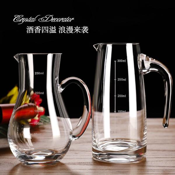 Diva's Life✨加厚玻璃分酒器白酒家用醒酒器洋酒紅酒分酒壺歐式小號100ml酒瓶