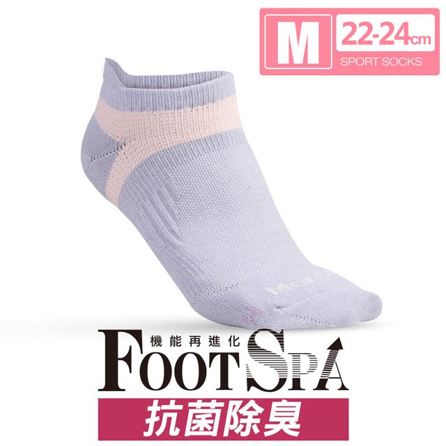 【瑪榭】MIT-抗菌除臭機能足弓運動襪(22~24cm)
