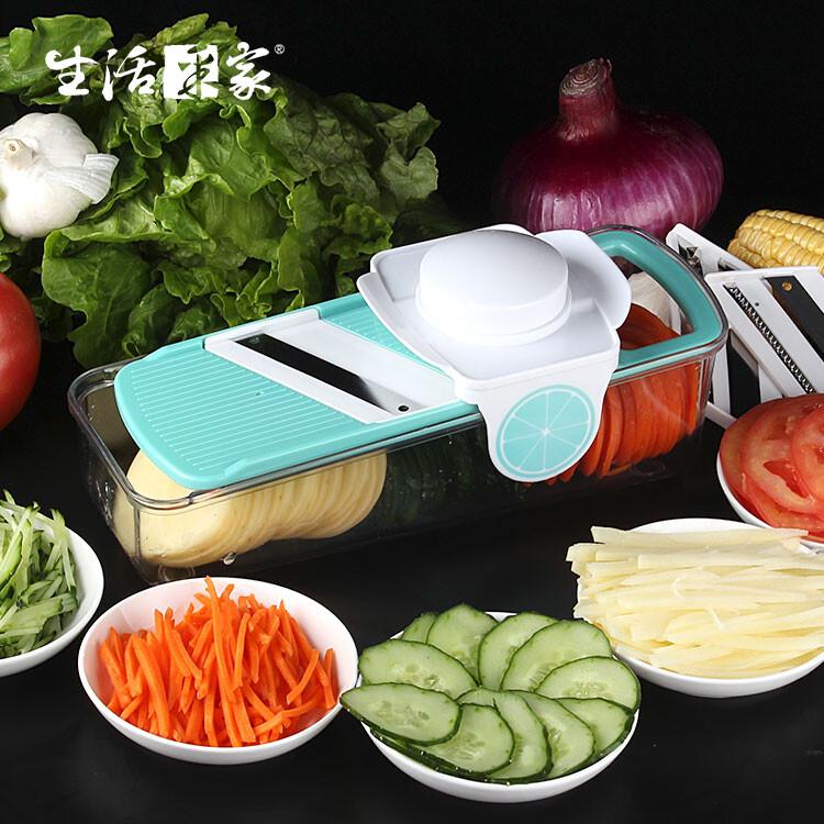 生活采家三機能刨絲切片切菜器#21057