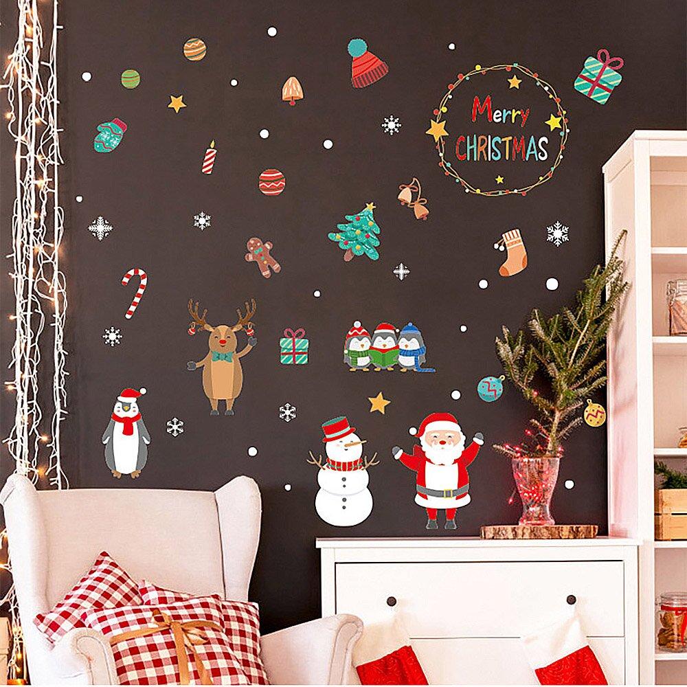 時尚壁貼 -繽紛聖誕節 HM92033ds