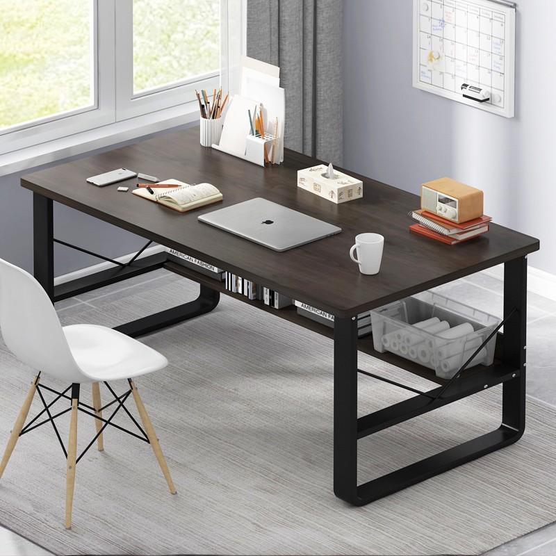 電腦桌簡約臺式辦公桌家用學生簡易書桌租房臥室寫字桌學習小桌子