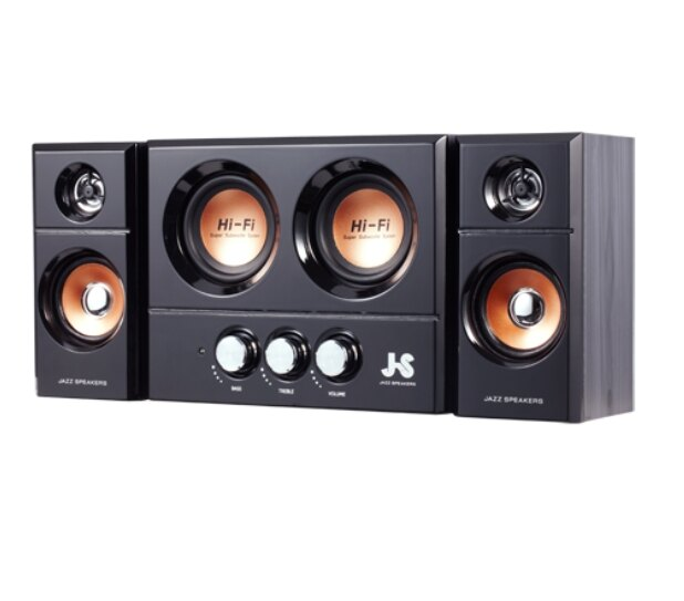 JS 淇譽 JY3250 雙重低音全木質多媒體喇叭 多媒體喇叭 電腦喇叭 音響 音箱 電腦喇叭【迪特軍】