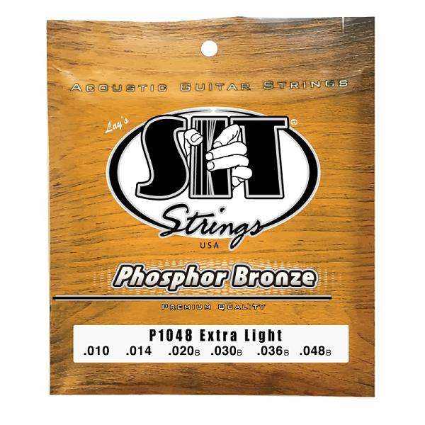 [唐尼樂器] 美國製 SIT 10-48/11-50/12-54 磷青銅 木吉他弦 民謠吉他弦 音色溫暖 飽滿