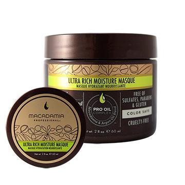 Macadamia Professional 瑪卡奇蹟油 超潤澤髮膜 60ml