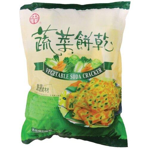中祥蔬菜餅乾香蔥蘇打餅乾(袋裝)360g