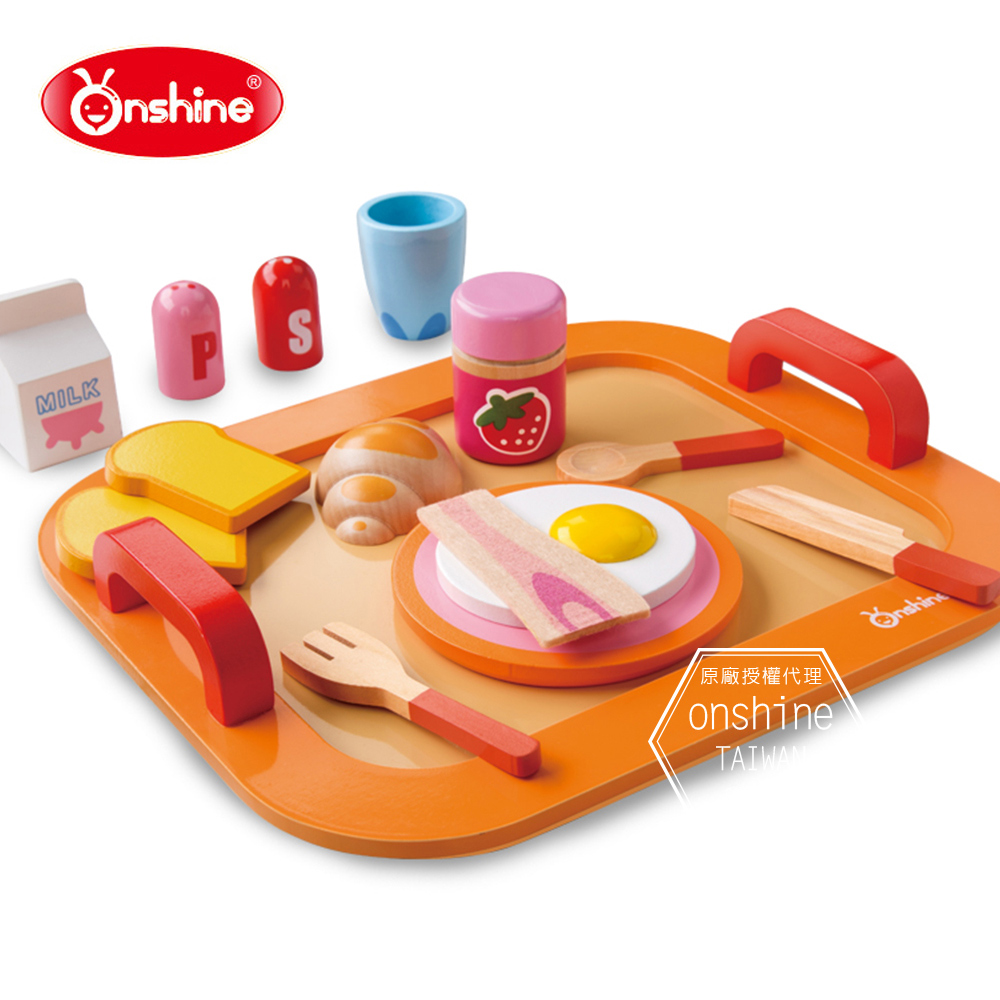 Onshine 兒童營養早餐家家酒/木質玩具