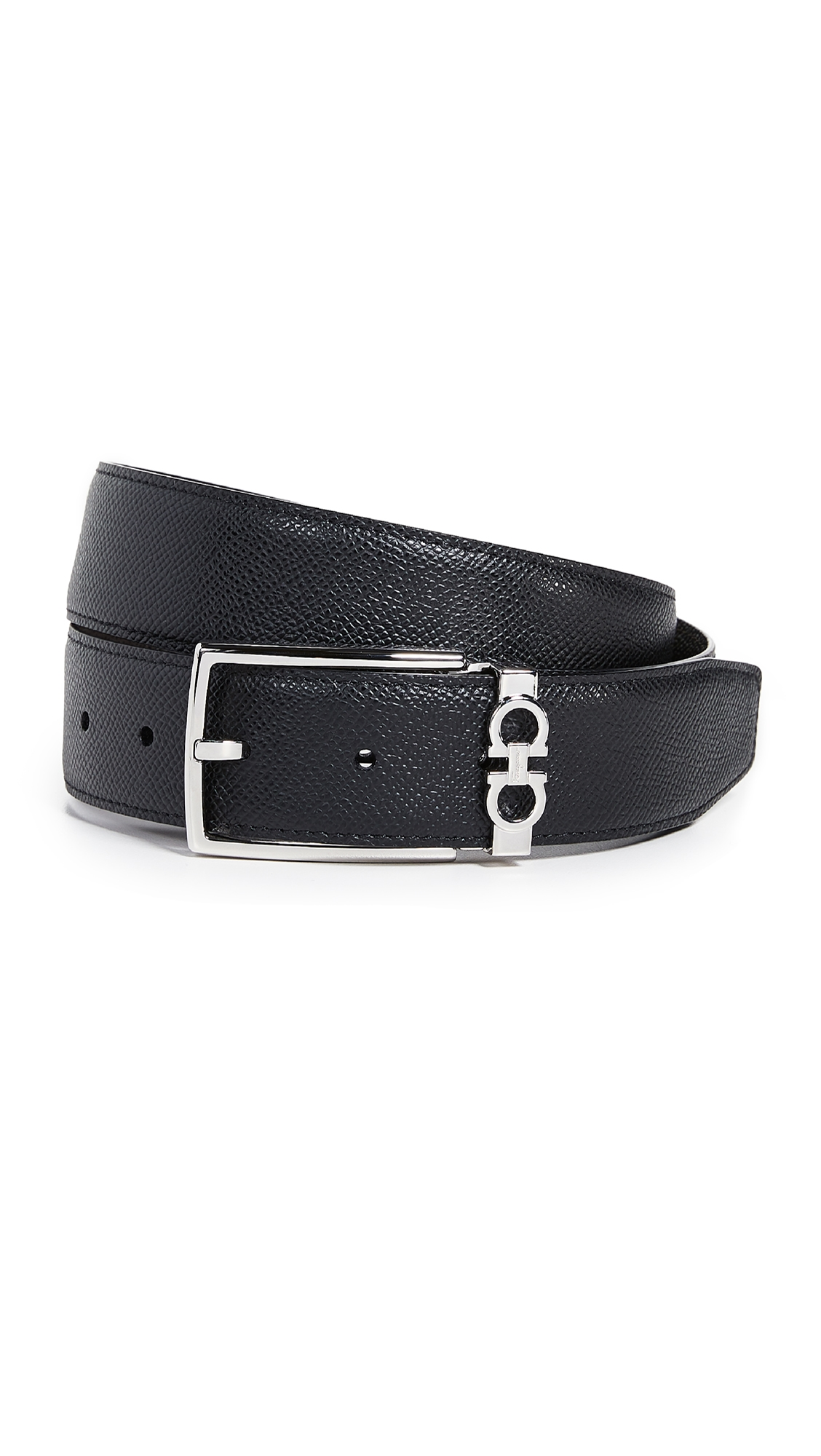 Salvatore Ferragamo Gancio Reversible Belt