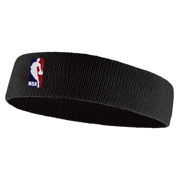 Nike NBA On-Court Headband 頭套 頭帶 運動 NBA 毛巾 吸汗 黑 [NKN02001OS]